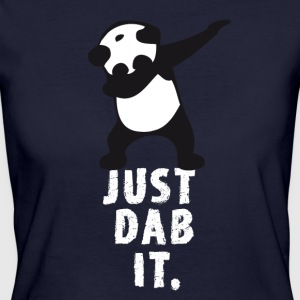 dab just dab it panda dabbing touchdown superbowl - Frauen Bio-T-Shirt
