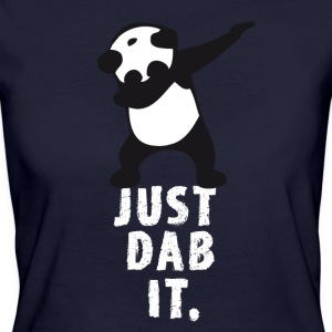 dab just dab it panda dabbing touchdown superbowl - Women's Organic T-shirt