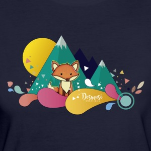 illustration Zorrito - T-shirt Bio Femme