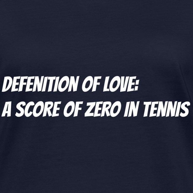 Tennis Love sweater woman
