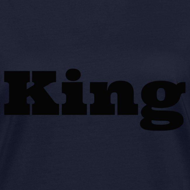 Snapback king rood/zwart