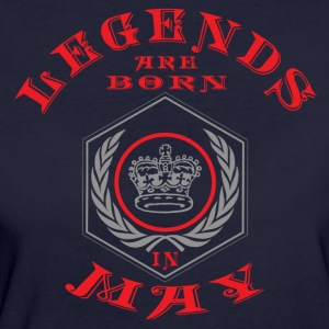 Legends may born birthday gift birth - Women's Organic T-shirt