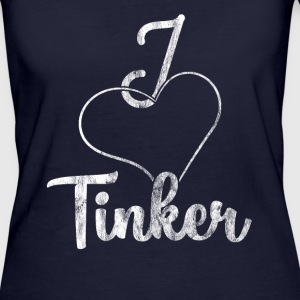 I love Tinker - Frauen Bio-T-Shirt