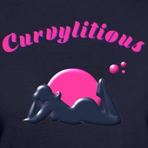 Curvylitious Bed Candy - Women's Organic T-shirt
