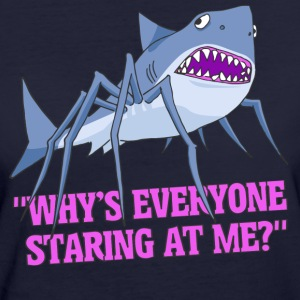 Spider Shark - Women's Organic T-shirt