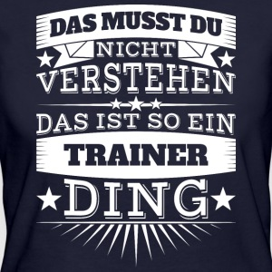 Trainer Ding - Frauen Bio-T-Shirt