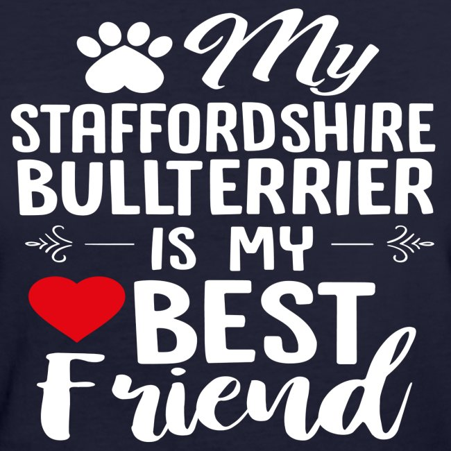 MYBESTFRIEND-STAFFORDSHIRE BULLTERRIER