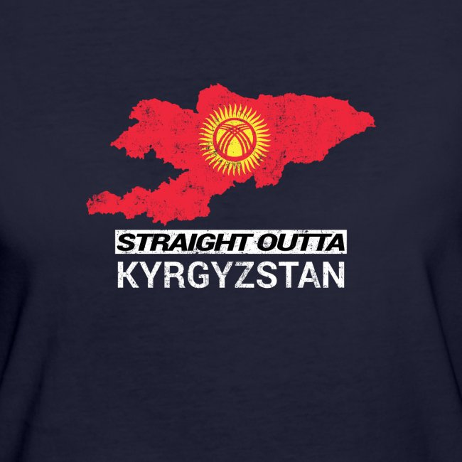 Straight Outta Kyrgyzstan country map