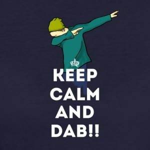 dab keep dabbing touchdown fun cool LOL football - Women's Organic T-shirt