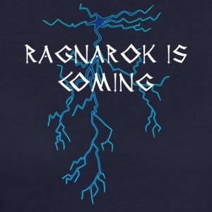 Wikinger: Ragnarok Is Coming - Frauen Bio-T-Shirt