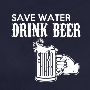 Save Water, Drink Beer - Frauen Bio-T-Shirt
