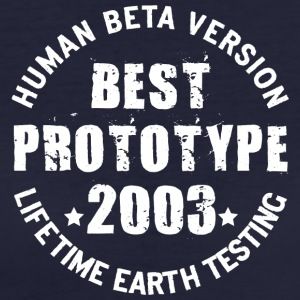 2003 - The birth year of legendary prototypes - Women's Organic T-shirt