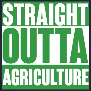 Agriculteur / PRODUCTEUR /: Straight Outta Agricult - T-shirt Bio Femme