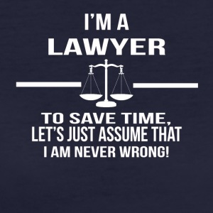 in a lawyer - Women's Organic T-shirt