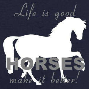 Chevaux Make It Better! - T-shirt Bio Femme