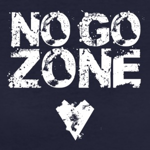 No GO ZONE - Ekologisk T-shirt dam