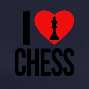 I LOVE CHESS - Women's Organic T-shirt
