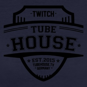 TubeHouse Team College Merch 2017 Black - Vrouwen Bio-T-shirt