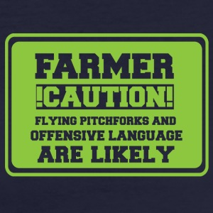 Farmer / farmer / farmer: Farmer! Caution! Flying - Women's Organic T-shirt