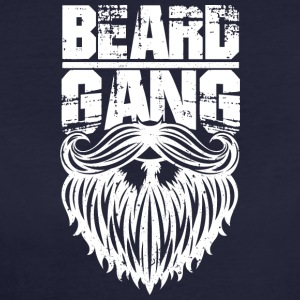 beard gang white - Frauen Bio-T-Shirt