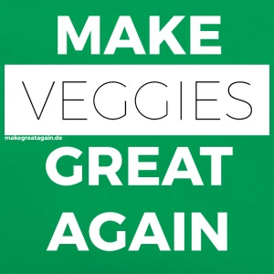 MAKE VEGGIES GREAT AGAIN white - Retro Bag