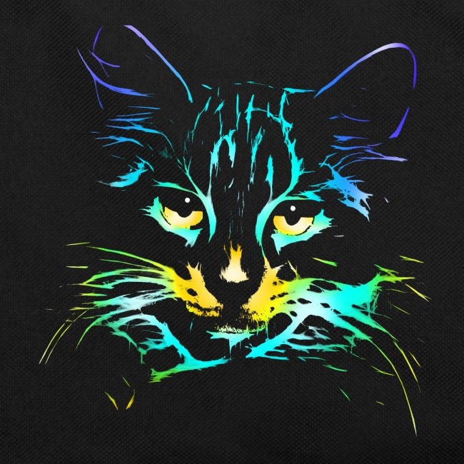 color kitty - Retro Tasche
