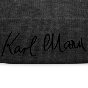 Signature of Karl Marx - Winter Hat