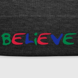 Believe colorful design - Winter Hat