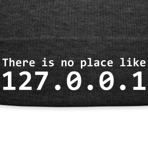 There is no place like 127.0.0.1 - Czapka zimowa