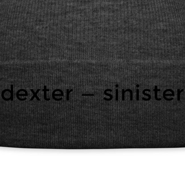 dexter sinister