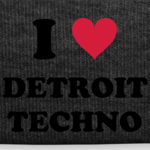 I LOVE DETROIT TECHNO - Wintermütze