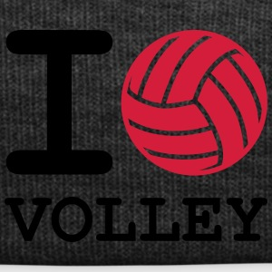 i love volleyball - Winter Hat