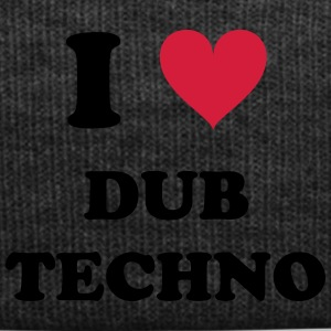 I LOVE DUB TECHNO - Wintermütze