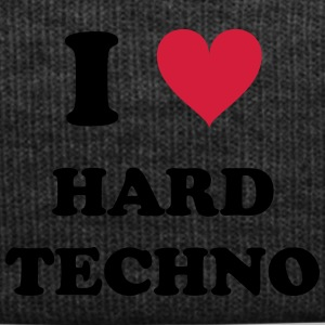 I LOVE HARD TECHNO - Wintermütze