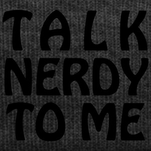 Talk Nerdy To Me - Vector - Winter Hat