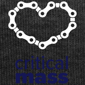 Critical Mass - heart for cyclists - Winter Hat
