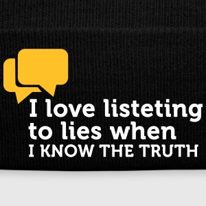 Lies Are Great If You Know The Truth. - Winter Hat