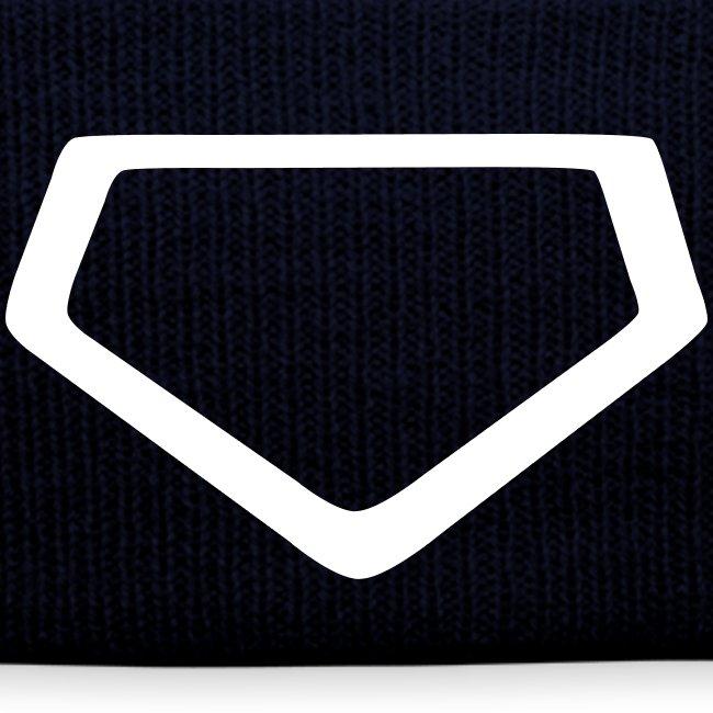 Baseball Homeplate Outline
