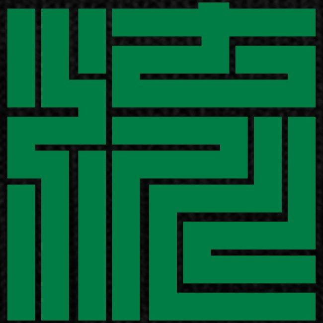 nagare kanji block 5x5cm