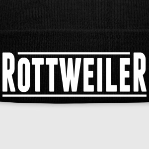 rottweiler - Winter Hat