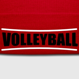 Volleyball Shirt - Beach Volleyball T-Shirt - Team - Winter Hat
