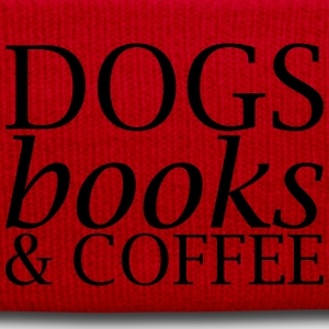 Dogs Books and Coffee - Winter Hat