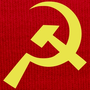 Communist Hammer Sickle Flag - Winter Hat