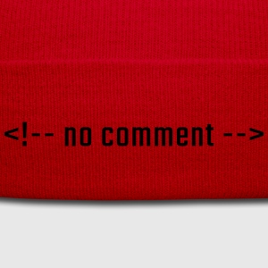 No comment - HTML lowercase - Winter Hat