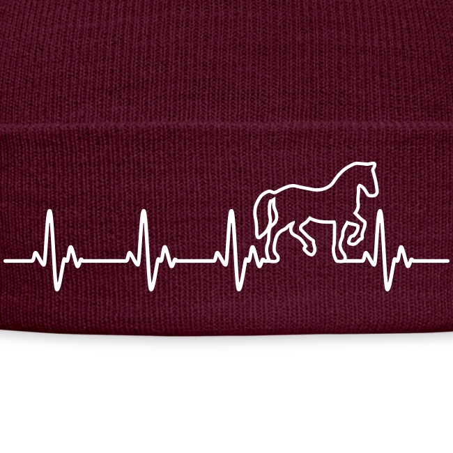 Vorschau: Horse Heartbeat - Wintermütze