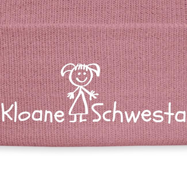 Vorschau: Kloane Schwesta - Wintermütze
