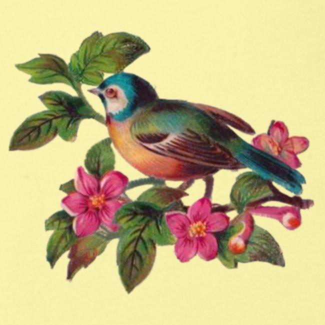 vintage vogeltjes patch