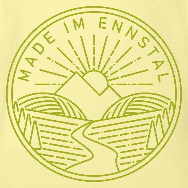 Made im Ennstal, grün