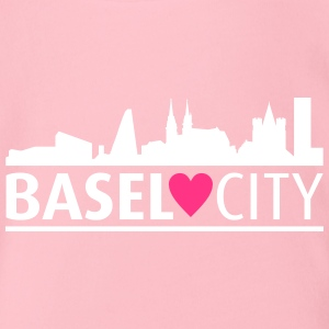 Basel city - Organic Short-sleeved Baby Bodysuit