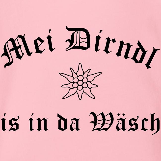 Mei Dirndl is in da Wäsch - Edelweiß